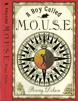 Dust Jacket on the Bloomsbury hard back edition of A boy Called MOUSE